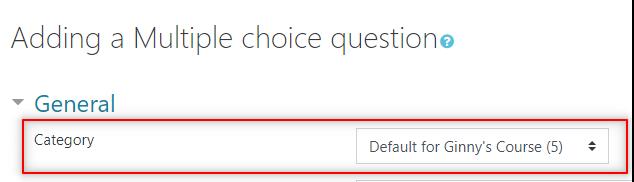 Image: Nexus- choosing question category