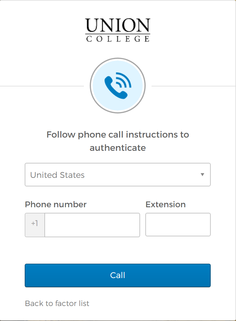 Voice Call Enter Number