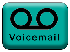 Image: Voicemail button