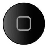Photo of the iPad home button