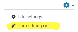 Image: turning Editing on in Nexus