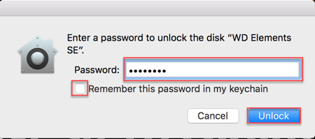 Image: Mac Enter Password screen