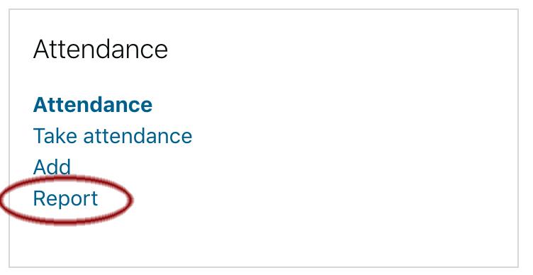 Image: Nexus Attendance Block