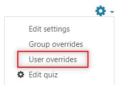 Image: Nexus- user overrides