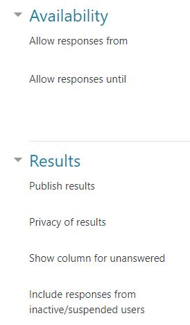 Image: Nexus- Choice additional settings